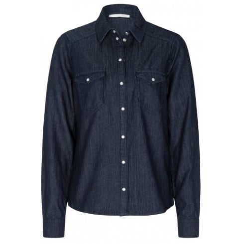 Oui 56048 OUI DENIM SHIRT