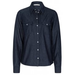 56048 OUI DENIM SHIRT