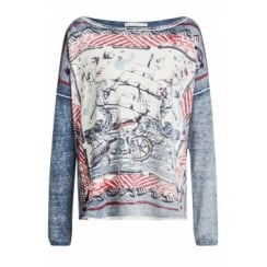 56933 OUI NAUTICAL SWEATER