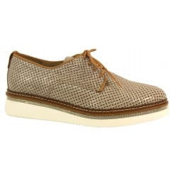 Alpe Lace up Woven Shoe - 3562