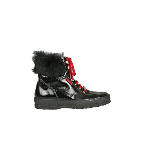 Ammann of Switzerland LAAX AMMAN LACE UP WITH FUR