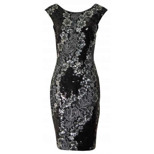 Apanage Dress with Sequins 451915
