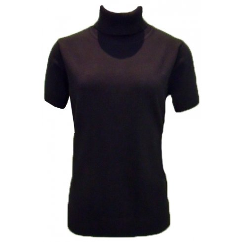 Apanage Ladies Short Sleeved Polo Neck 875200