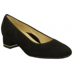 Ara Block Heeled Court Shoe - 11838