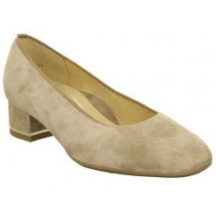 Ara Block Heeled Court Shoe - 11838
