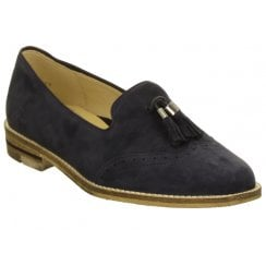 Ara Suede Ladies Brogue Loafer - 31228