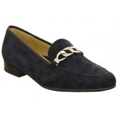 Ara Suede Ladies Loafer with Chain Detail - 31226