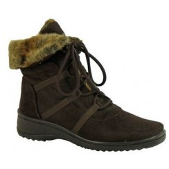 Ara Waterproof Boot With Fur Cuff 48523