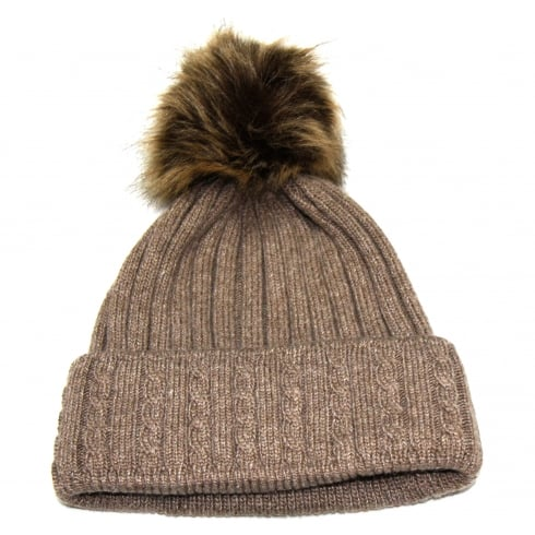 Something For Me Brown Something For Me Bobble Hat - 391110