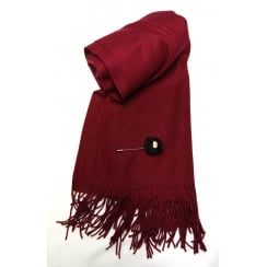 Burgundy Something For Me Pashmina - 387004