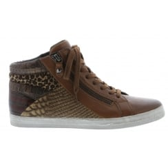 CELEBRITY W17 GABOR HIGH TOP TRAINER SHOE