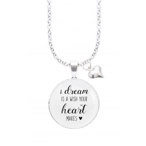 Winged Words DREAM WISH WINGED WORDS NECKLACE