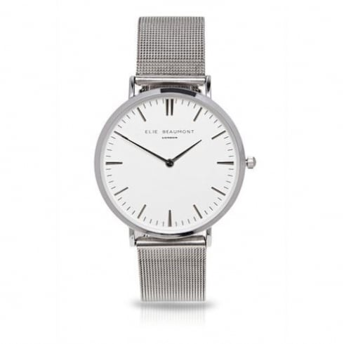 Elie Beaumont - Large Face Watch - Oxford Mesh
