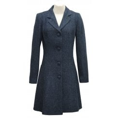 Eliz Scott Tweed Fitted Coat - Zoe