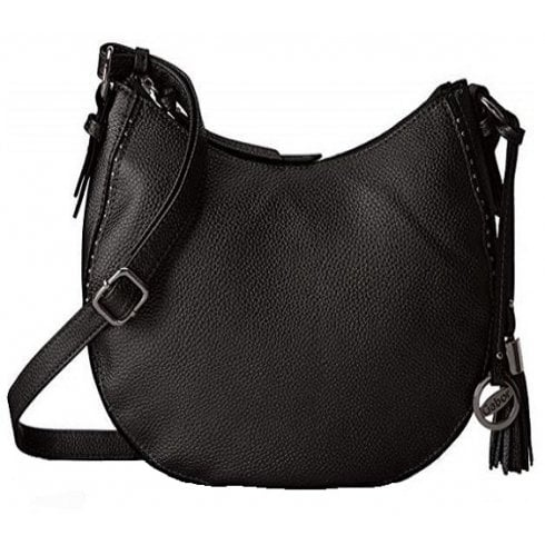 8245cb5fb487 Gabor  Roberta Cross body bag studded in silver or black