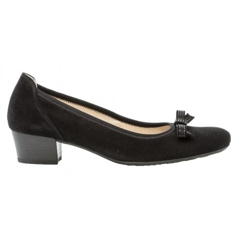 Gabor Block Heeled Court Shoe - Hawick 22.202