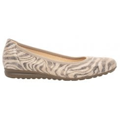 Gabor Casual Pump With Animal Print - Splash - 22.620