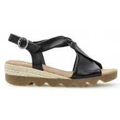 Gabor Chunky Ladies Sandal - Rich 22.751