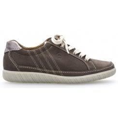 Gabor Classic Lace up Trainer Shoe - Amulet 26.458