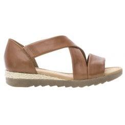 Gabor Flat Crossover Sandal - Promise - 22.711