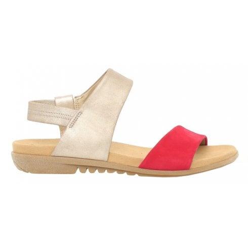 Gabor Flat Walking Sandal - Racy 24.601