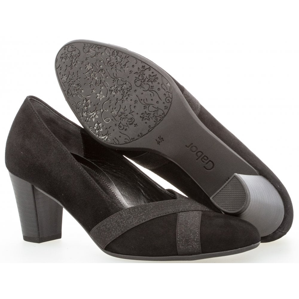 83f942551db3b Gabor - Heeled Court Shoe - Forage 32.163 - Footwear from Something ...