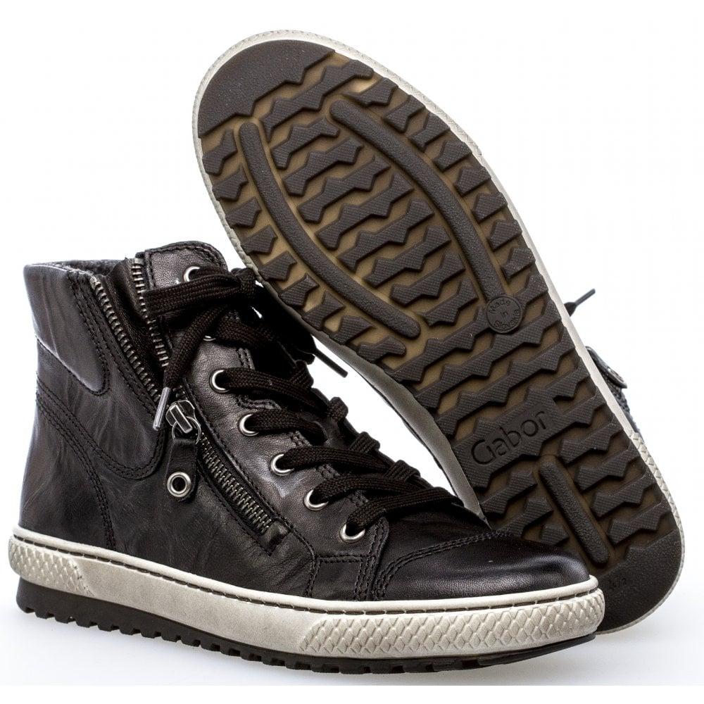 Gabor High Top Trainer Shoe - Bulner 33