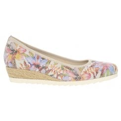 Gabor Jute covered Low Wedge - Epworth - 22.641