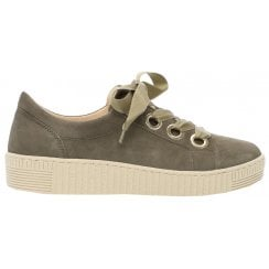 Gabor Ribbon Lace Up Trainer - Wright 23.330