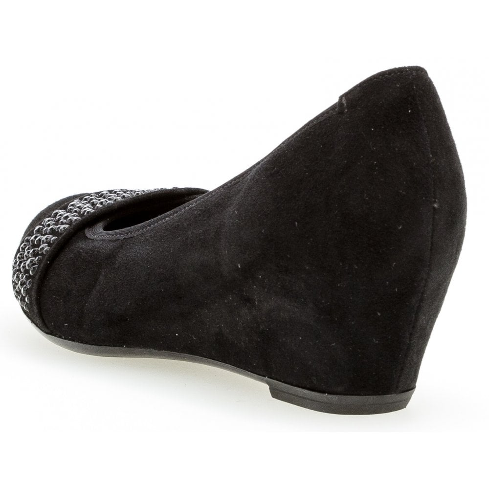 244b03c5ff6 Gabor Gabor Wedge with Jewel Detail - Fodder 25.369 - Gabor from ...