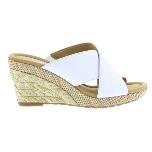 Gabor Wedged Slip On Sandal - Purpose 82.829