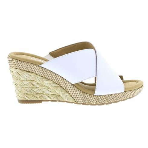 Gabor Wedged Slip On Sandal - Purpose 82.829