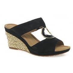 Gabor Wedged Slip On Sandal - Sizzle 82.825