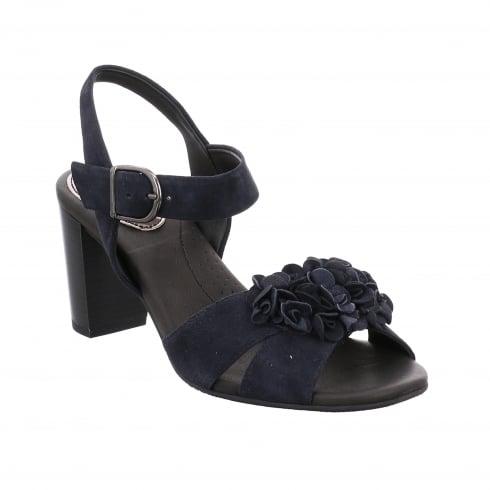Gerry Weber Peep Toe Sandal with Adjustable Ankle Strap - Letizia 04