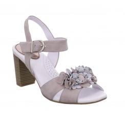 Gerry Weber Peep Toe Sandal with Adjustable Ankle Strap - Letizia 04