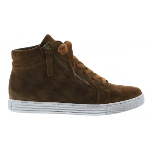 Gabor Green & Tan Houston Gabor High Top Trainer 76.545