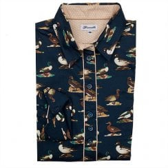 Grenouille Printed Ladies Shirt - Duck
