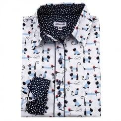 Grenouille Printed Shirt - Dog