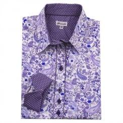 Grenouille Printed Shirt - Paisley