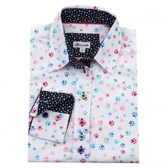 Grenouille Printed Shirt - Paws
