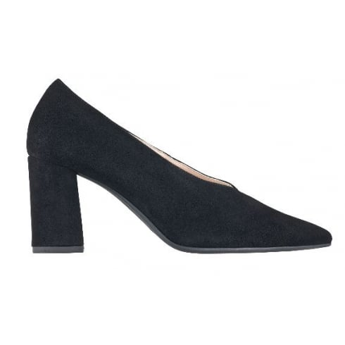 2c85902ab9bc Navy Heels   Pointed Court Shoe by Hogl from Something for Me