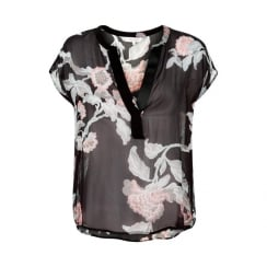HELENA BL PART TWO FLORAL BLOUSE