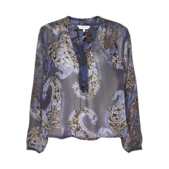 HELLA BL PART TWO PRINTED BLOUSE