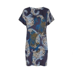 HILARY DR PART TWO PAISLEY PRINT DRESS