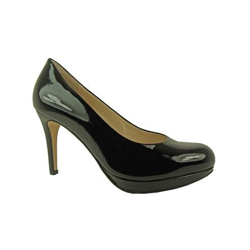 Högl High Heeled Patent Court Shoe 108004