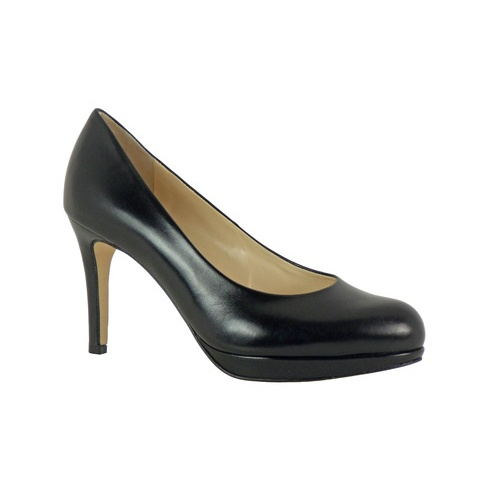 Högl Hogl Platform Leather Court Shoe 108001