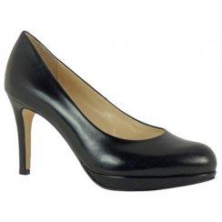 Hogl Platform Leather Court Shoe 108001