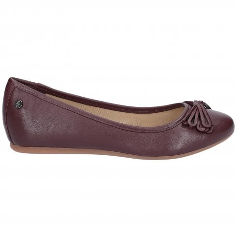 Hush Puppies Heather Bow Ballet Shoe