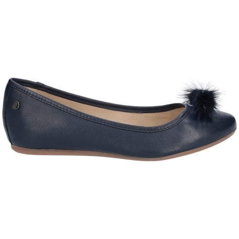 Hush Puppies Heather Puff Ballet Shoe