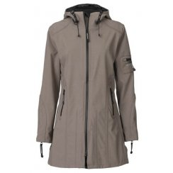 Ilse Jacobsen 3/4 Length Rain Coat - Rain 07